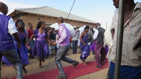 Dancing at the Wedding!